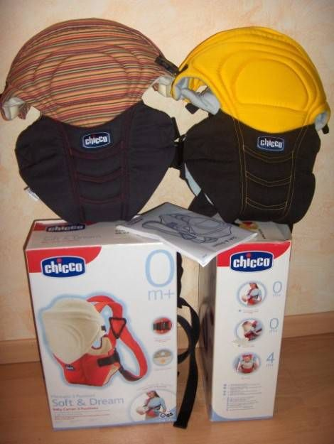 Vendo 2 marsupi chicco SOFT&DREAM